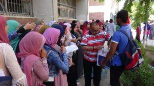 توزيع 500 زجاجة مياه وفيلم تسجيلي وعروض فنية فى ختام فعاليات الكشف الطبي بجامعة المنيا