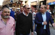 نقلي سفير خادم الحرمين الشريفين بالقاهرة يزور  شارع المعز لدين الله الفاطمي