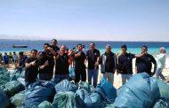 محميات البحر الأحمر تنظم حملة لتنظيف جزيرة مجاويش
