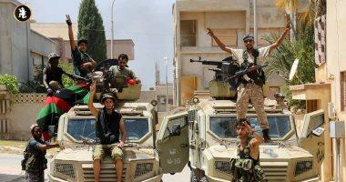 الجيش الليبى يسقط طائرة تابعة لمليشيات مصراتة