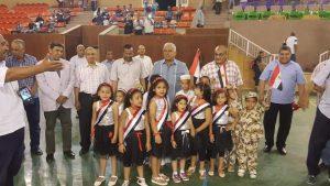 افتتاح بطولة الدورة الرمضانية للعاملين بشركة مصر للألومنيوم بنجع حمادي