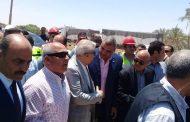 نائب سمالوط يتابع مع وزير النقل أعمال تنفيذ محور كوبري النيل بسمالوط