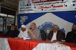 عبد الله يجتمع بأهالي منطقة الملاحة ويستمع الي مطالبهم