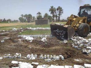 محافظة سوهاج: إزالات فورية لـ 8 حالات تعدي في المهد وإيقاف بناء مخالف خلال أسبوع