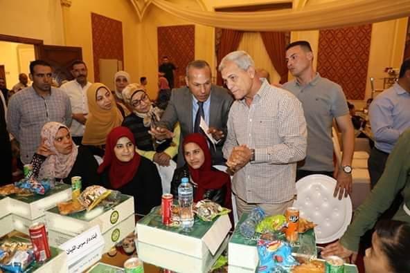 محافظ المنوفية يشهد حفل إفطار جماعي مع الأيتام بشبين الكوم