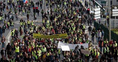 اشتباكات محدودة فى احتجاجات السترات الصفراء بفرنسا
