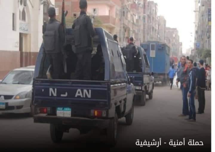 القبض على 12 تاجر مخدرات في حملة بالجيزة