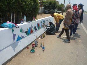 مبادرة شبابية لتجميل قرية شبلنجة ببنها ٠٠ صور
