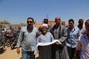 اللهجان يشهد جلسة صلح القودة بين عائلتى الفوايد والصباري بمركز ابوتشت