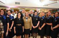 وزيرة السياحة تشيد بفريق عمل مصر للطيران
