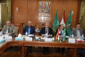 اللجنة العليا لإعداد إستراتيجية جامعة المنوفية ٢٠٢٠-٢٠٣٠ تنهى المرحلة الأولى وتتابع تنفيذ المرحلة الثانية من الخطة