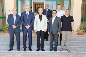 مبارك يعتمد نتيجة الفرقة الرابعة بالنوعية