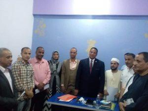 حزب صوت الشعب يفتتح مقرة الجديد في قنا