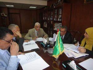 لجنة تظلمات أعضاء هيئة التدريس بجامعة المنوفية تعقد جلستها الثامنة برئاسة القاصد
