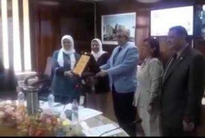 تكريم رؤساء الأقسام السابقين بطب بنها ٠٠صور
