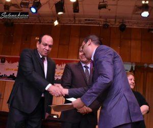 تهنئة لقائد مسيرة الشباب والرياضة بالمنيا مندي محمد عكاشه