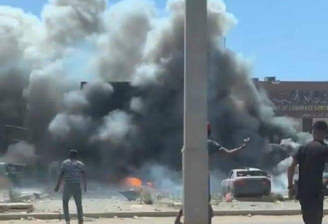 إستهداف موكب لبعثة الأمم المتحدة بسيارة مفخخة فى ليبيا