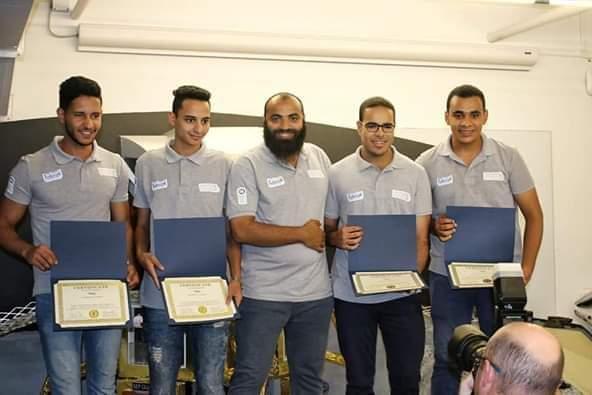 فريق جامعة المنوفية يفوز بالمركز الأول في المسابقة العالمية IDC ROBOCON 2019 بالولايات المتحدة الأمريكية