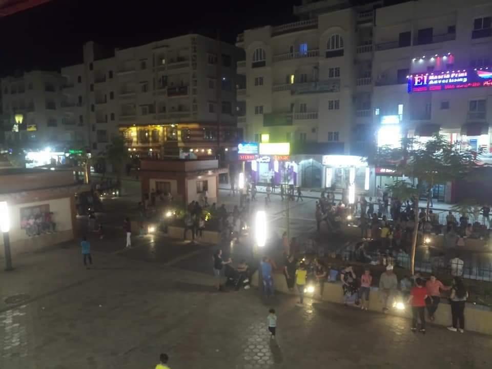 استمرار توافد المواطنين على ممشى شيري احتفالاً بثالث أيام العيد