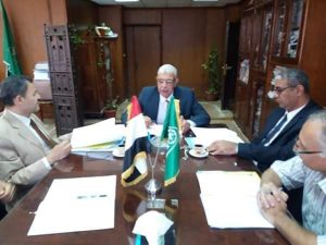 لجنة تظلمات أعضاء هيئة التدريس بجامعة المنوفية تعقد جلستها التاسعة برئاسة القاصد