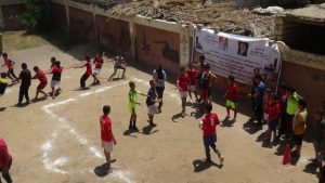 القوافل الرياضية لجامعة المنيا تصل إلي
