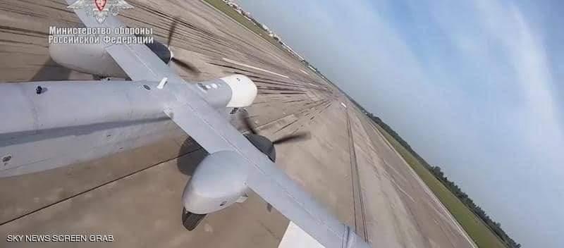 روسيا تطلق طائرة