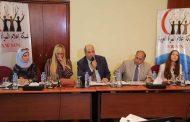 بالصور شبكة إعلام المرأة العربية تكرم المستشار الاقتصادى راغب مصطفى إسماعيل