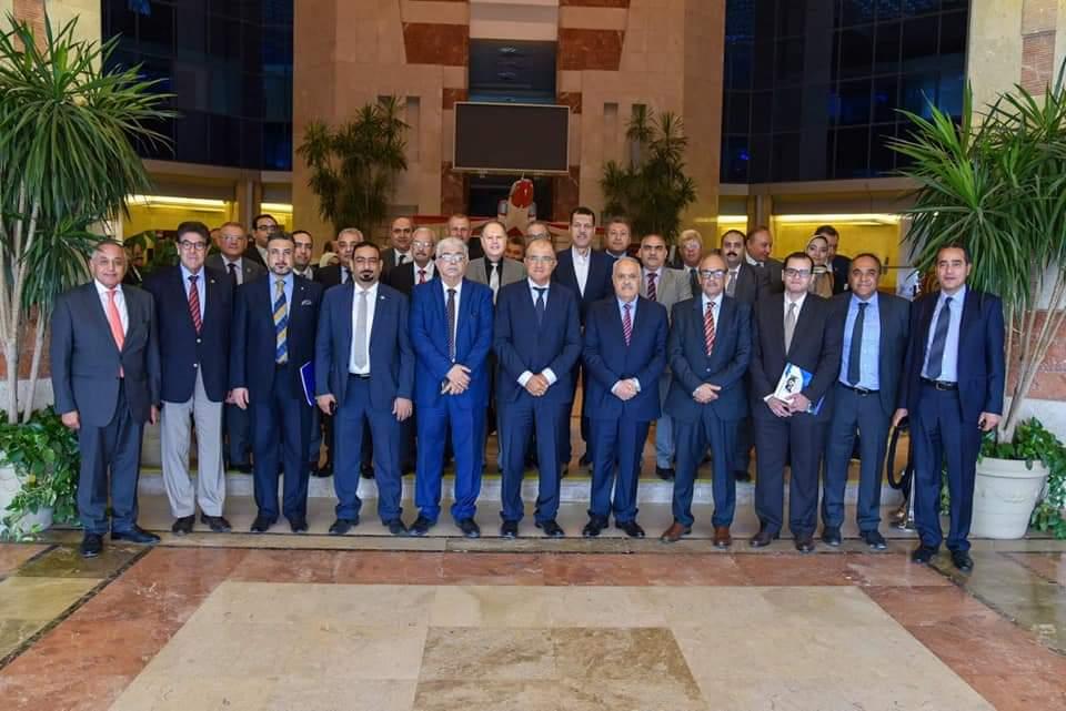 بحث الخطوات التنفيذية للشراكة والتكامل بين العربية للتصنيع واتحاد الصناعات المصرية