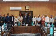 د. ياسر مصطفي مدير معهد بحوث البترول يعلن عن تجديد الثقة لشهادة نظام ادارة الجودة ISO 9001 للعام الخامس
