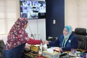 وكيل تعليم كفر الشيخ تناقش طلبات المواطنين خلال اللقاء الجماهيري