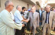 محافظ كفرالشيخ يشارك فى تشييع جنازة شهيد الواجب بحادث شمال سيناء الإرهابى