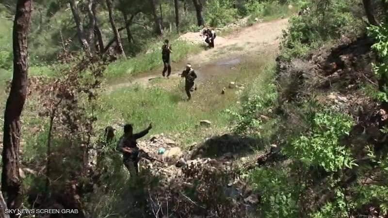 مقتل وجرح عدد من مسلحي الحشد الشعبي بغارات قرب حدود العراق