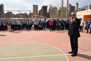 رئيس جامعة المنوفية يستقبل مستشار أكاديمية ناصر العسكرية العليا