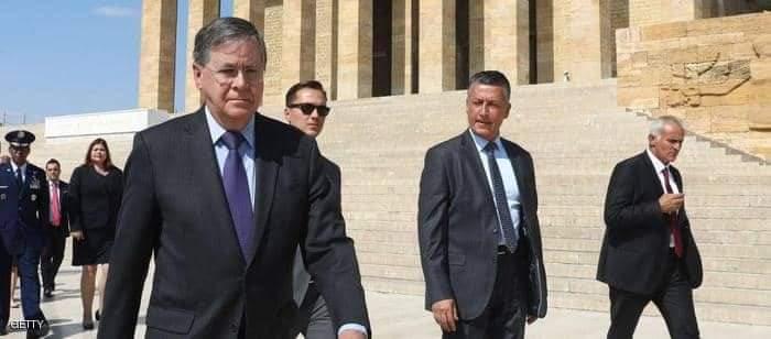 استدعاء سفير واشنطن بأنقرة بعد الهجوم التركي شمالي سوريا