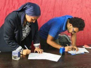 تم عمل بروتوكول تعاون بين مبادرة efuo ومؤسسة التنمية الإيجابية للشباب بالإسكندرية
