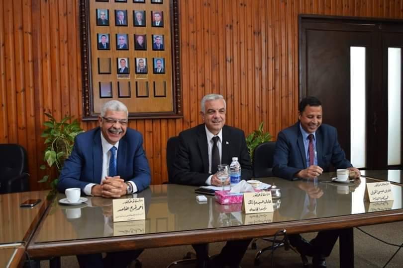 رئيس جامعة المنوفية يعلن عن موافقة الجهاز المركزى على اعتماد الهيكل الوظيفى الكليات الجديدة