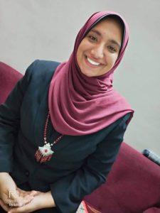 اميرة خورشيد أصغر مصممة ازياء في مصر