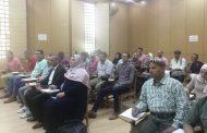 تطوير الأداء ضمن فعاليات ورشة تنمية مهارات مسئولي المتابعة بمصر الجديدة
