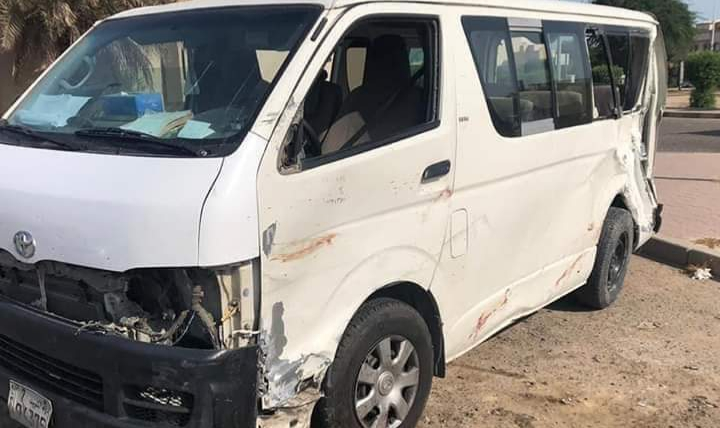 وفاة 5 مصريين في حادث مروري بجسر أبو حليفة بالأحمدي بدولة الكويت