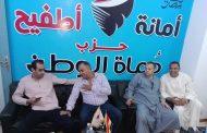 أبوالسعود يتابع الاستعداد لافتتاح مقر حماة الوطن بمركز أطفيح