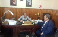 الدويك عضو مجلس النواب بقنا يتابع مشروع الصرف الصحى لقرى ونجوع اولاد عمرو