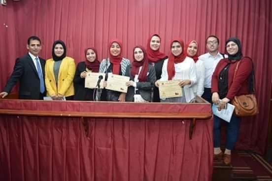 فوز فريق جامعة المنوفية بالمسابقة النهائية لنموذج المحكمة الصورية