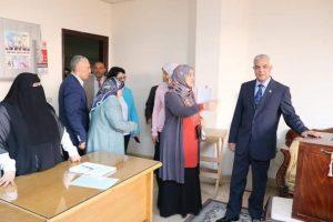 رئيس جامعة المنوفية يشهد حفل تدشين افتتاح ٥ مراكز للمعلومات الدوائية بوحدات الجامعة