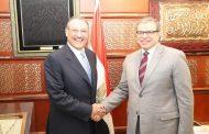 السفير أسامة نقلي يلتقي وزير القوى العاملة المصري لبحث مجمل ملفات التعاون المشترك