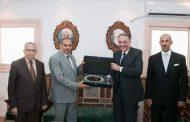 السفير أسامة نقلي يزور جامعة الأزهر ويبحث عملية دعم الدارسين السعوديين مع قيادات الجامعة
