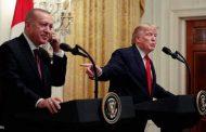 ترامب وأردوغان خلال المؤتمر الصحفي