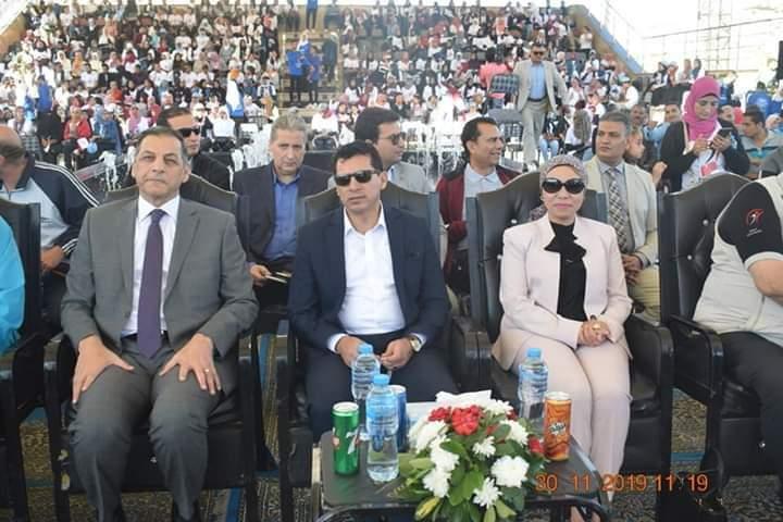 نائب محافظ البحر الأحمر تشارك ندوة الاتحاد المصري للثقافة الرياضية بالغردقة