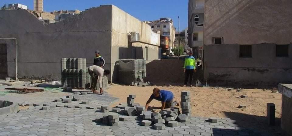 البحر الاحمر متابعة أعمال تطوير المناطق القديمة بالامل بالغردقة