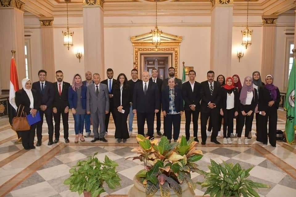 د. الخشت في حوار مع اتحاد طلاب جامعة القاهرة الجديد: جامعة القاهرة