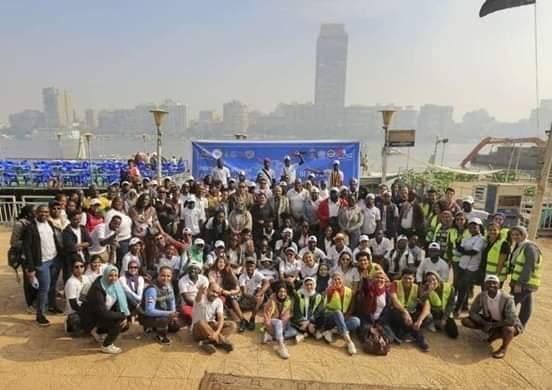 الشباب والرياضة تنظم اكبر حملة تطوعية افريقية لتنظيف نهر النيل وزراعة 100 شجرة بمنتدي 15 مايو